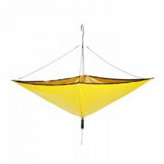 Paraplu-vormige omleider