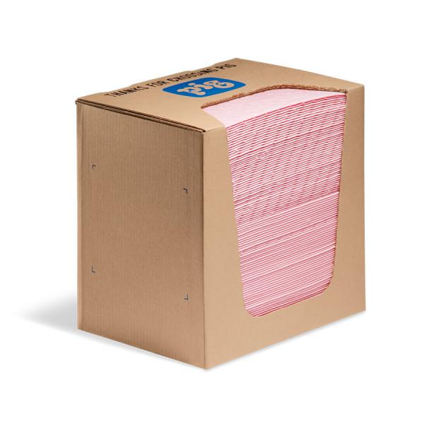 MAT351 absorberende doeken voor zuren en logen in dispenserdoos