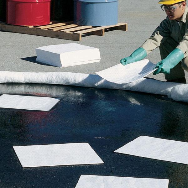absorberende matten voor olie buitengebruik op water