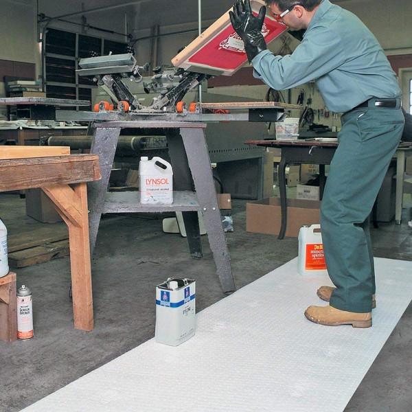MAT419 mat die enkel olie absorbeert
